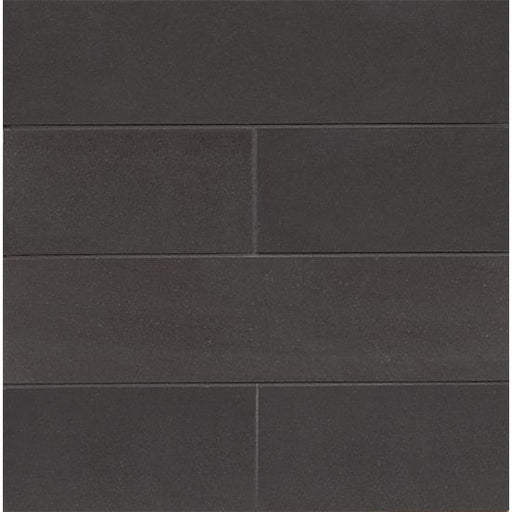 "Absolute Black 3"" x 12"" Honed Floor and Wall Tile, Sold by the Carton"
