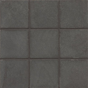 "Absolute Black 4"" X 4"" Floor & Wall Tile, Sold by the Carton"