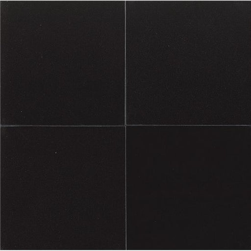 "Absolute Black 24"" x 24"" Wall Tile, Sold by the Carton"
