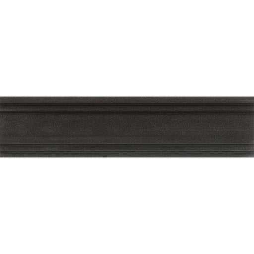 "Absolute Black 3"" x 12"" Trim, Sold by the Piece"