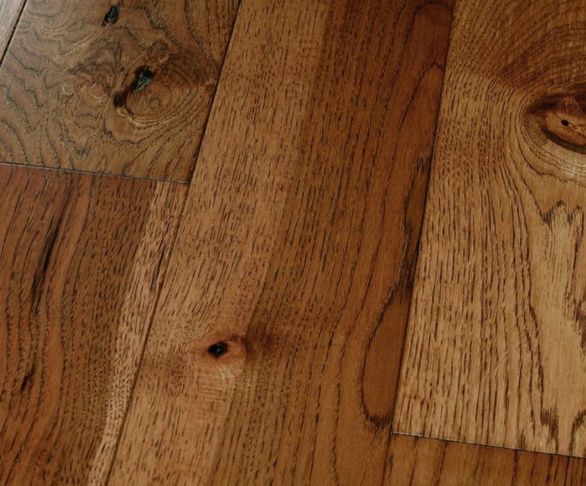 Homerwood Solid Hickory Wood Flooring, Saddle Finish, Per Square Foot