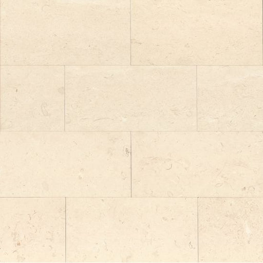 "Corinthian Whtie Honed 12"" x 24"" Floor and Wall Tile, Sold by the SF"