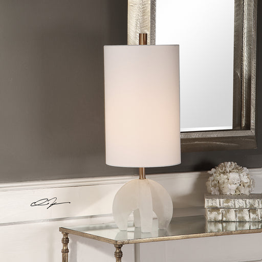 Alanea White Buffet Lamp