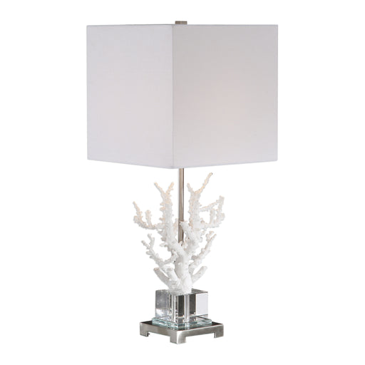 Corallo White Coral Table Lamp