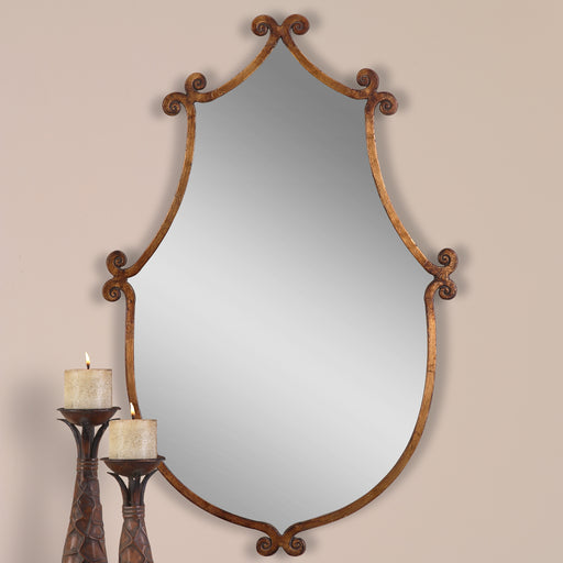 Ablenay Antique Gold Mirror