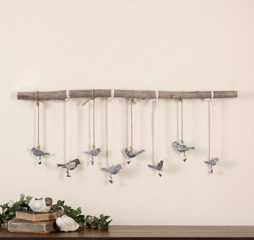 Birds On A Branch Wall Art