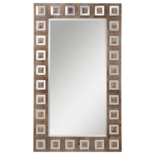 Anara Wooden Mirror