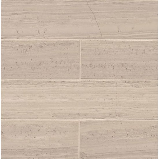 "Ashen Grey Honed 3"" x 12"" Floor and Wall Tile, Sold by the Carton"