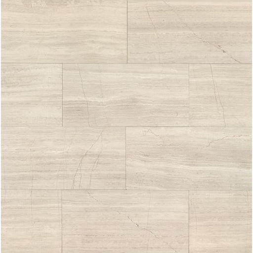 "Ashen Grey Honed 12"" x 24"" Floor and Wall Tile, Sold by the Carton"