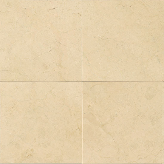 "CREMA MARFIL 24"" X 24"" POLISHED FIELD TILE, PER PIECE"