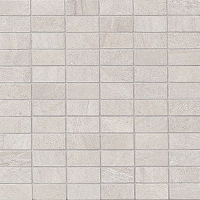 "Purestone 1"" X 2"" Floor & Wall Mosaic in Grigio, Sold by the Piece"