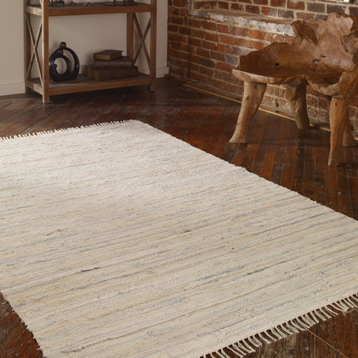 Stockton 5 X 8 Rug - White