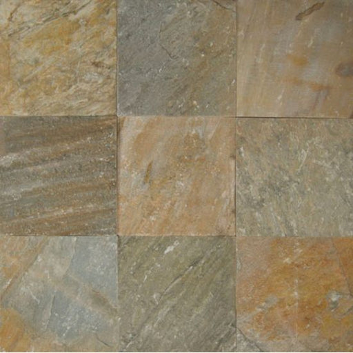 "Amber Gold 12"" x 12"" Floor Tile, Sold by the SF"