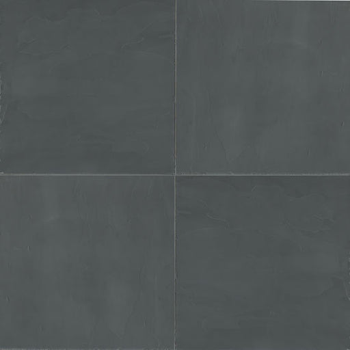 "Andhra Black 12"" x 12"" Floor and Wall Tile, Sold by the Carton"