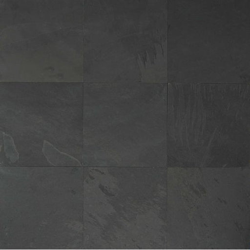 "Black Pearl 16"" x 16"" Floor Tile, Sold by the Carton"