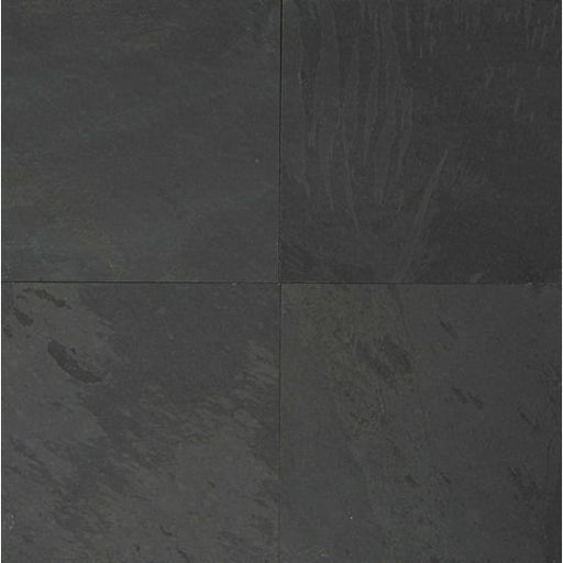 "Black Pearl 24"" x 24"" Floor Tile, Sold by the Carton"