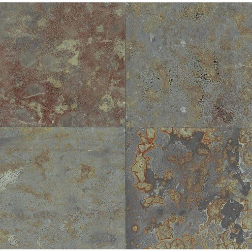 "Brazilian Multicolor 24"" x 24"" Floor and Wall Tile, Sold by the Carton"