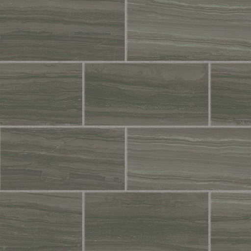 "Highland 12"" x 24"" Floor and Wall Tile in Dark Greige, Sold by the Carton"