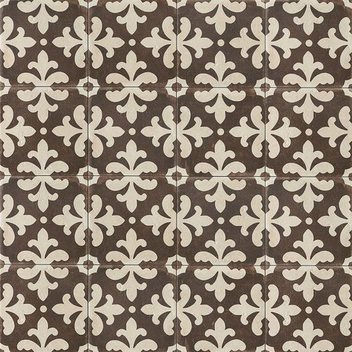 "Palazzo 12"" x 12"" Decorative Tile in Antique Cotto Florentina, Sold by the Carton"