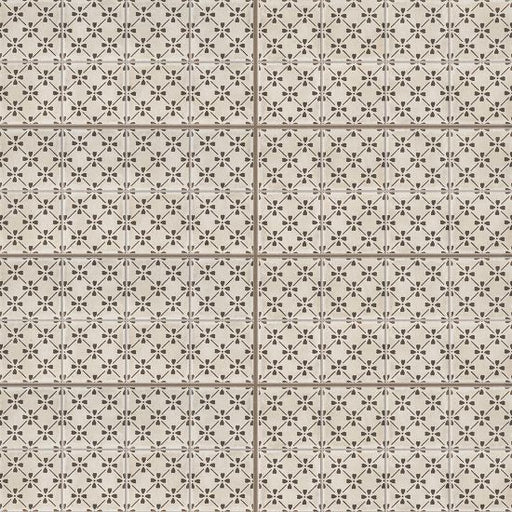 "Palazzo 12"" x 24"" Decorative Tile in Antique Cotto Bloom, Sold by the SF"