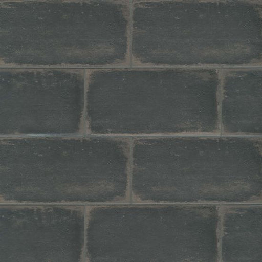 "Palazzo 12"" x 24"" Floor and Wall Tile in Castle Graphite, Sold by the Carton"
