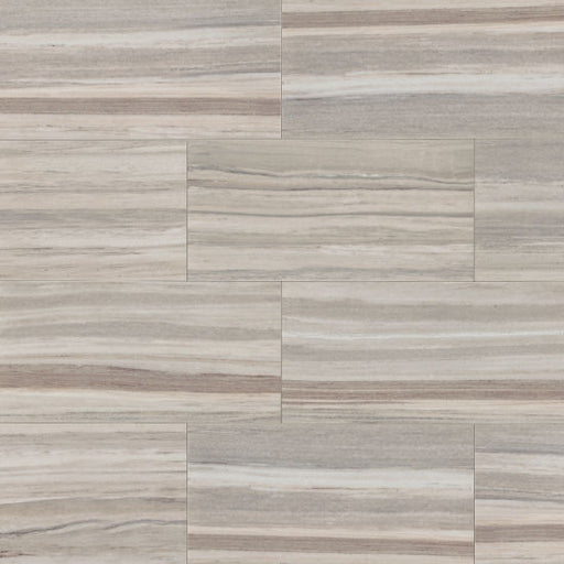 "Zebrino 12"" x 24"" Floor and Wall Tile in Bluette, Sold by the Carton"