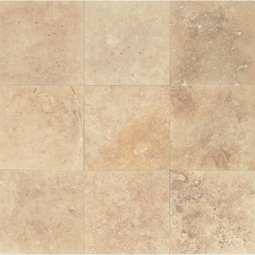 "Desert Rustic 16"" x 16"" Filled and Honed Floor and Wall Tile, Sold by the SF"