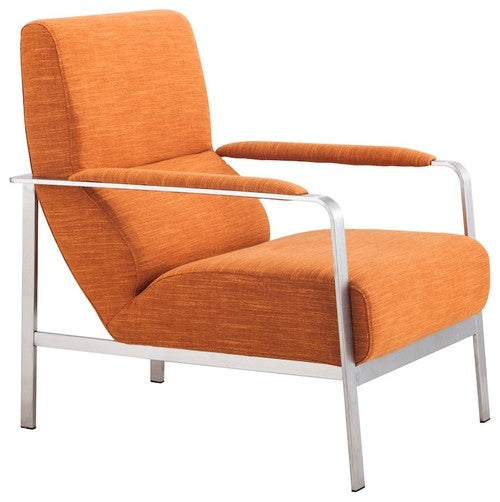 Orange Arm Chair