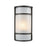 Thomas Lighting CE931171 Bella 1 Light Outdoor Wall Sconce In Oil Rubbed Bronze With A White Acrylic Diffuser Oil Rubbed Bronze