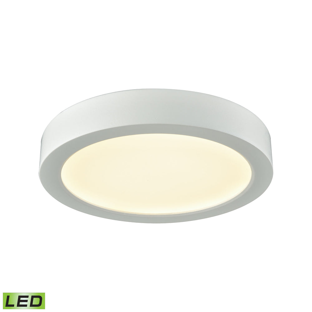 "Thomas Lighting CL781034 Titan 1 Light 6"" LED Flush Mount In White With A White Acrylic Diffuser White"