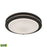 "Thomas Lighting CL782021 Clarion 15"" LED Flush Mount In Oil Rubbed Bronze With A White Acrylic Diffuser Oil Rubbed Bronze"