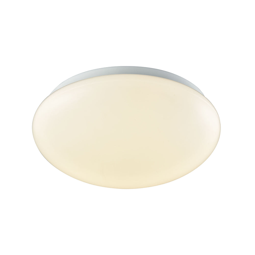 "Thomas Lighting CL783004 Kalona 1 Light 10"" LED Flush Mount In White With A White Acrylic Diffuser White"