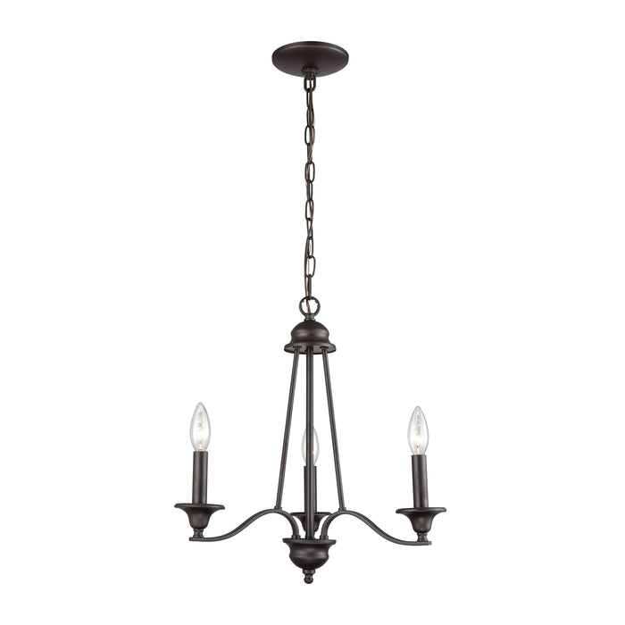 Thomas Lighting CN110321 Farmington 3 Light Chandelier In In Oil Rubbed Bronze Oil Rubbed Bronze