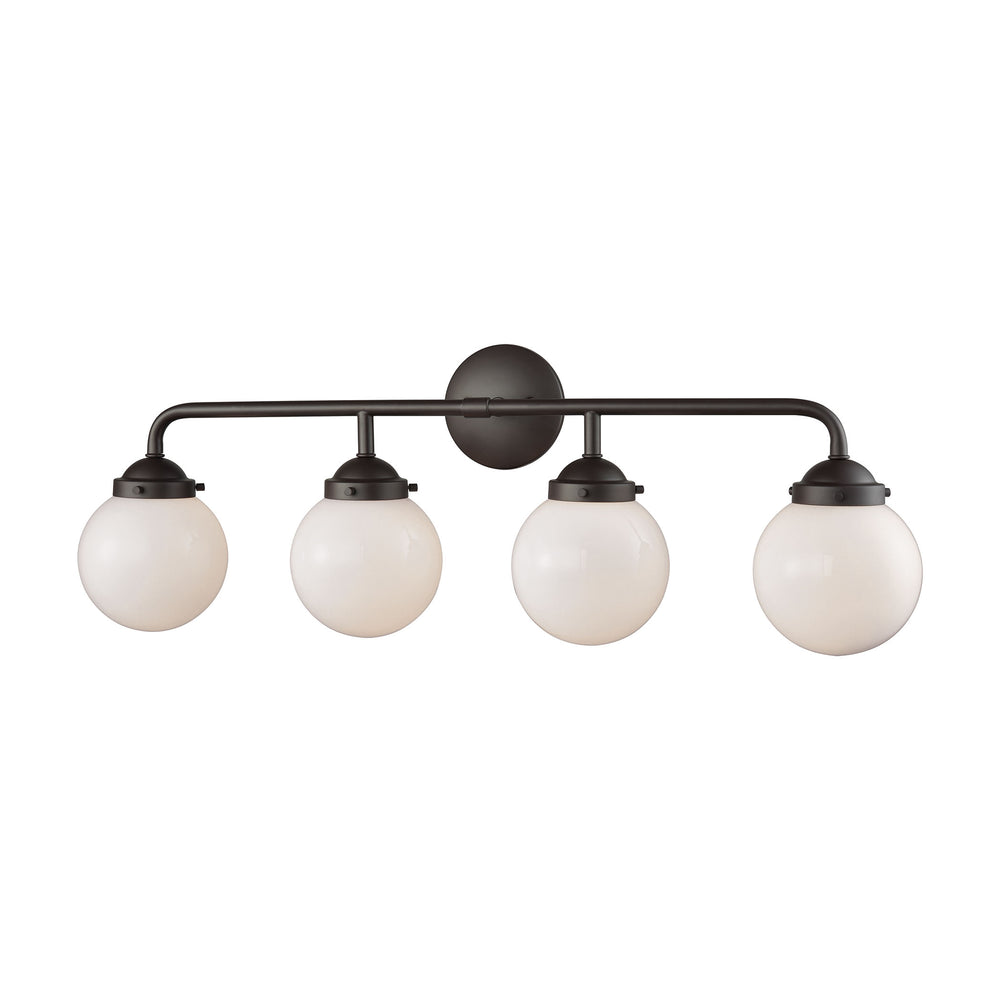 Thomas Lighting CN120411 Beckett 4 Light For The Bath In Oil Rubbed Bronze Oil Rubbed Bronze