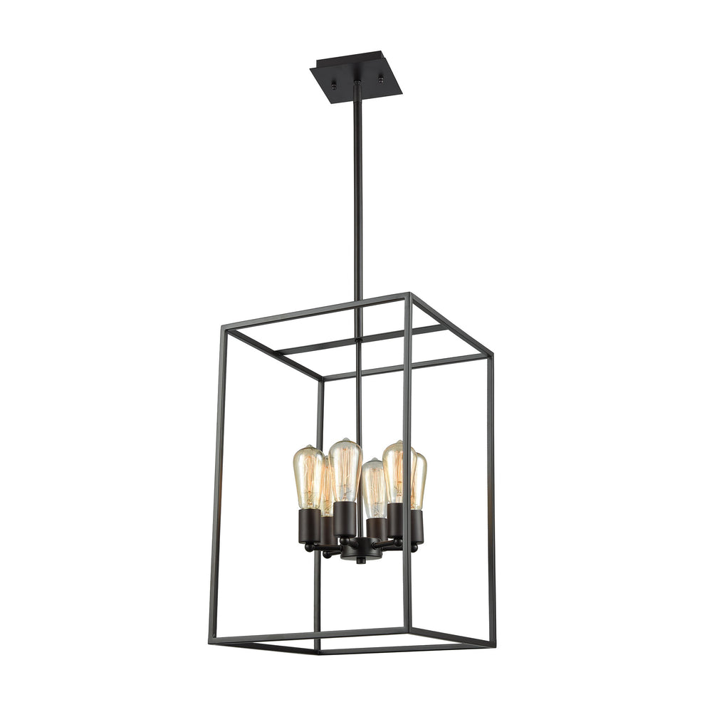 Thomas Lighting CN15861 Williamsport 6 Light Chandelier In In Oil Rubbed Bronze Oil Rubbed Bronze