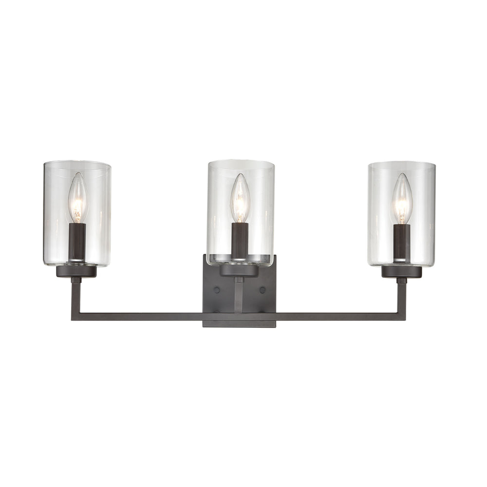 Thomas Lighting CN240131 West End 3 Light Bath Light In Oil Rubbed Bronze Oil Rubbed Bronze