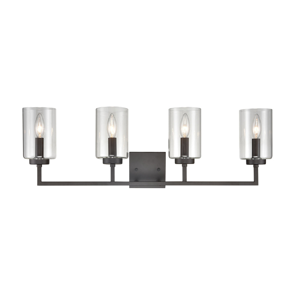 Thomas Lighting CN240141 West End 4 Light Bath Light In Oil Rubbed Bronze Oil Rubbed Bronze