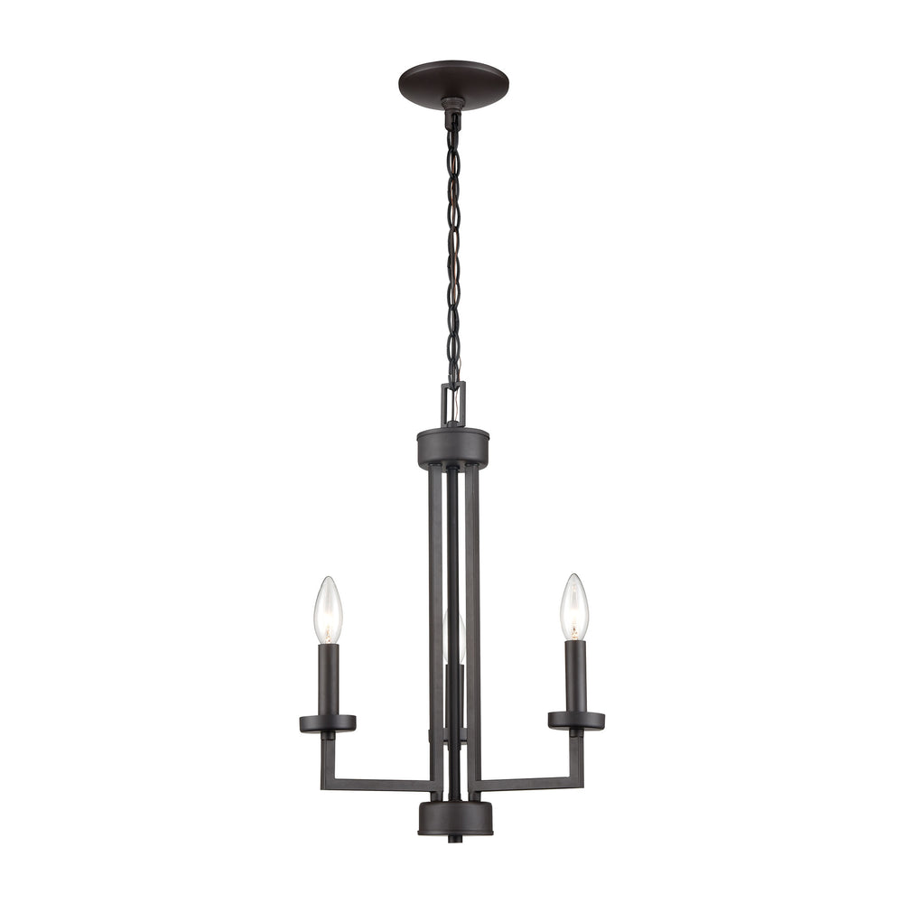Thomas Lighting CN240321 West End 3 Light Chandelier In Oil Rubbed Bronze Oil Rubbed Bronze