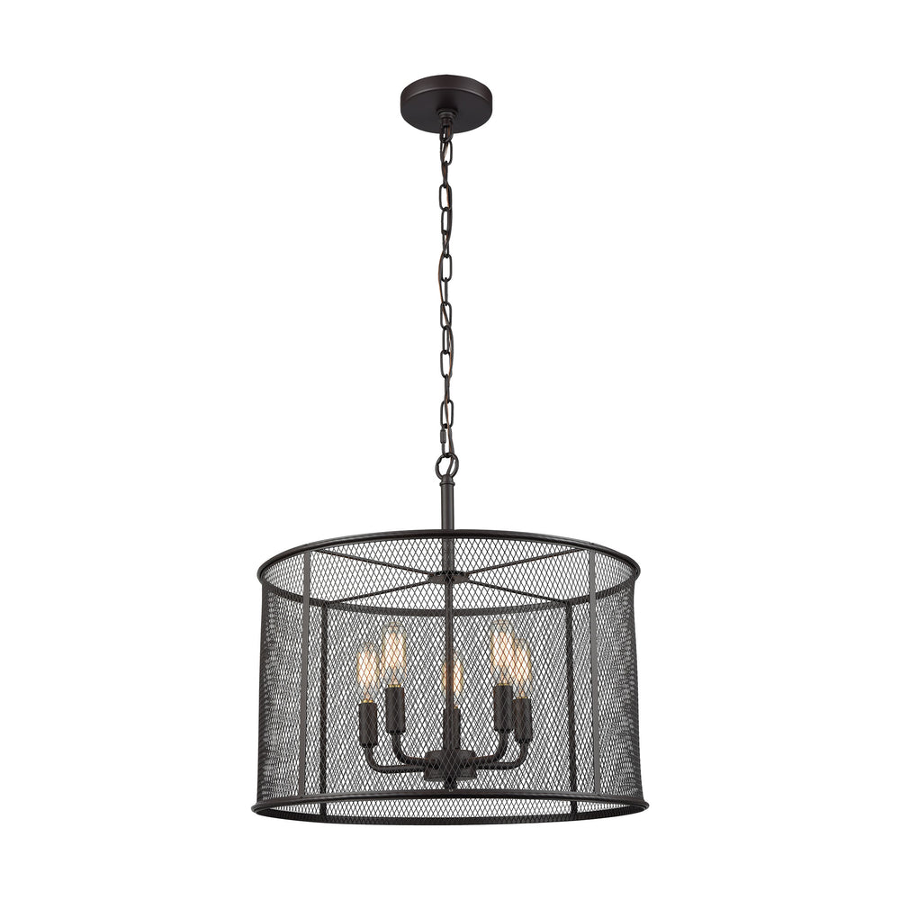 Thomas Lighting CN250541 Williamsport 5 Light Chandelier In In Oil Rubbed Bronze Oil Rubbed Bronze
