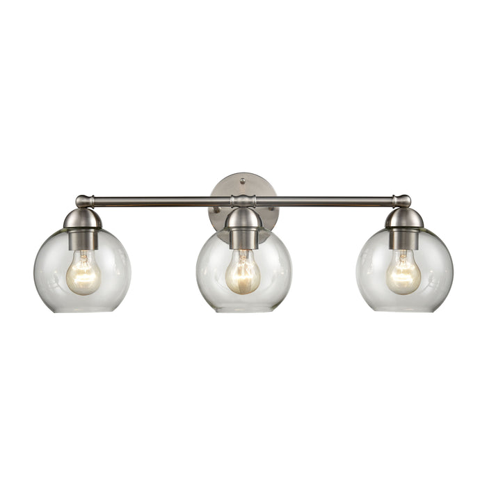 Thomas Lighting CN280312 Astoria 3 Light Bath Bar In Brushed Nickel Brushed Nickel