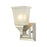 Thomas Lighting CN573171 Sinclair 1 Light For The Bath In Brushed Nickel With Frosted Glass Brushed Nickel