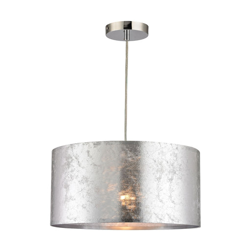 D2957 Boulevard 1 Light Pendant In Silver Silver