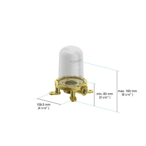 in2aqua Free Standing Tub Filler Rough-In Valve 1108 2 99 2 Free Parcel Delivery