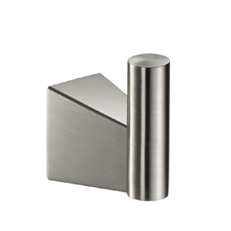 Satin Nickel Robe Hook from the Bleu Series