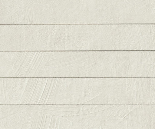 "Abitare La Terra 16"" X 2.5"" Floor & Wall Tile in Bianco, Sold by the Carton"