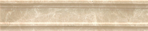 "Rock Glamorous 2.5"" x 12"" Trim in Aegean Cream, Sold by the Piece"