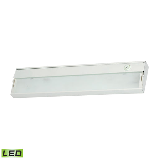 "ELK Lighting LD017RSF-D ZeeLED Dimmable LED 120V - 2 Light, 17 1/2"" White Finish White Free Parcel Delivery"