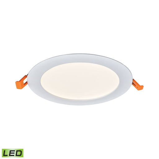 "Thomas Lighting LR10064 Mercury 6"" Round Recessed Light In White - Integrated LED White"