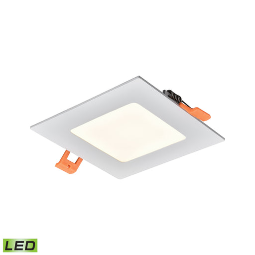 "Thomas Lighting LR11044 Mercury 4"" Square Recessed Light In White - Integrated LED White"