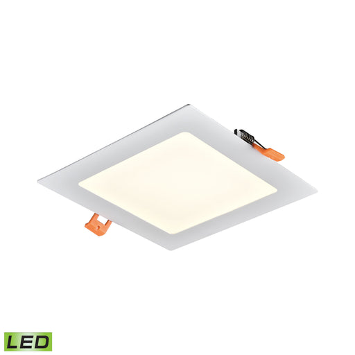 "Thomas Lighting LR11064 Mercury 6"" Square Recessed Light In White - Integrated LED White"